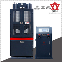 Testing Compression Compress Aluminum 2000kn 100 Ton Hydraulic compression testing machine Universal Tensile