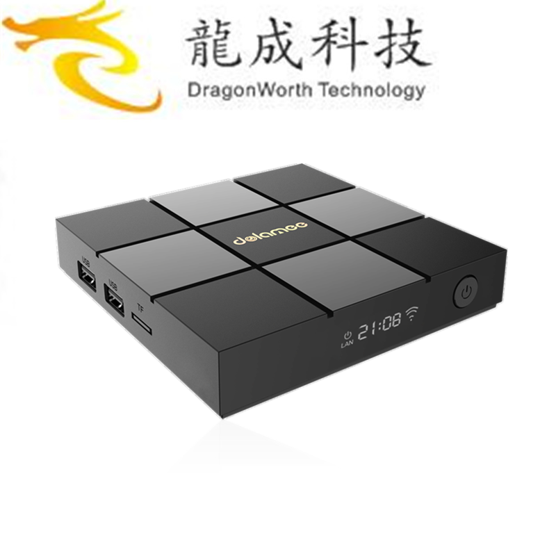 2017 Hot sales DOLAMEE D6 S905X 2G 8G with low price ott 6.0tv box