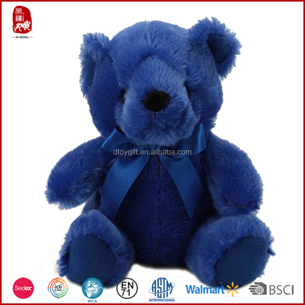 10 Inch Plush Toy Dark Blue Color Teddy Bear Buy Teddy Bear Dark
