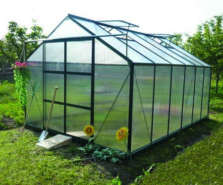 Polycarbonate Sheet Garden Greenhouse For Sale Commercial Garden Shed Greenhouses