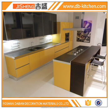 Free Design Laminate New Model Kitchen Cabinet