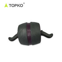 TOPKO Hot Selling Fitness Gym Equipment Abdominal Trainer Ab Carver Pro AB Wheel