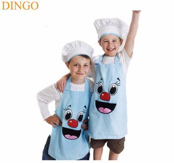 Promozionale per bambini cappello da cuoco e grembiule con logo bambini  cappello da cuoco e b46ab772f33d