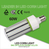 Aviation aluminum 60W LED bulb best price with fin heat sink corn cob light 5 years warranty