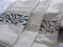 Luxury cotton embroidery pattern, multiple design bed sheet/bedding set