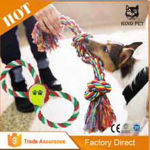 Factory Price Pet Products Cotton Rope Toys Dog Toys For Chew