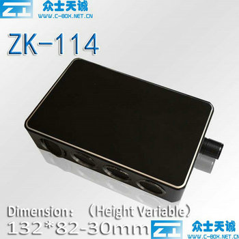 ZK-114-1/132*82-30MM small one Aluminum Router Shell/ Player Shell/Controller Shell/
