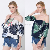 women clothing manufacturers off shoulder ladies tunic top wholesale uk plus size women wear oem new fashion strapless blouses