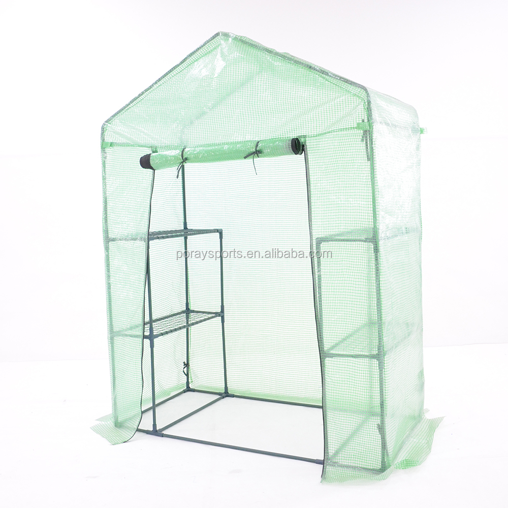WALK-IN 3 Tier 6 Shelf Portable GREENHOUSE Outdoor Green House