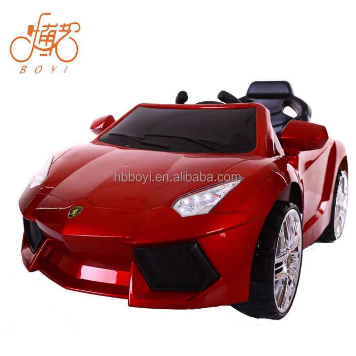 Two Motor two battery Painting sliding door kids electric car / ride on car