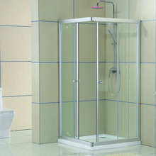 simple design aluminium alloy tempered glass mobile shower room KDS-D1040 for bathroom