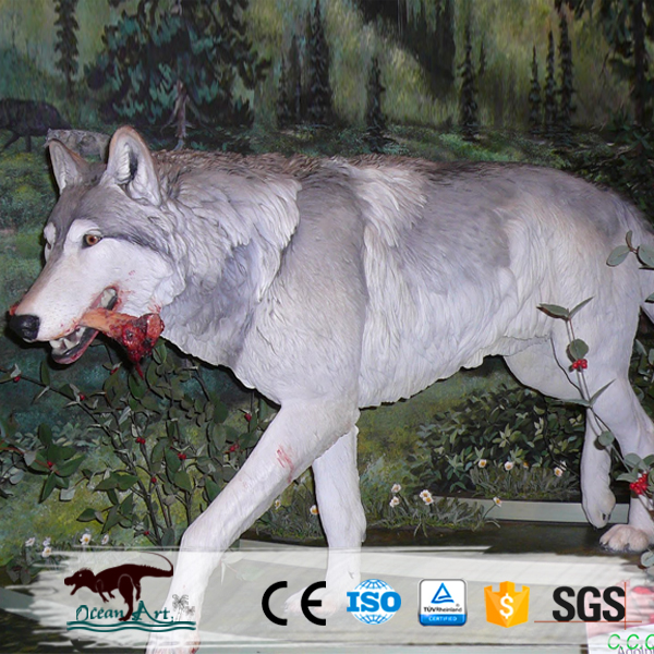 OA9267 Life Size Animatronic Dire Wolves for Sale