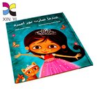 Custom wonder coloring printing hardcover tamil adult story book for children
