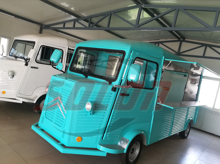 mobile food trucks gelato car with wheel for sale