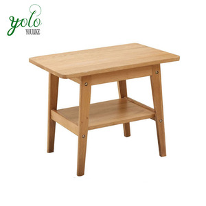 Nordic style Eco-friendly bamboo wood tea /coffe table/side table