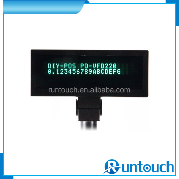 Runtouch RT-V220 More reliable More accurate POS client display interactive epos Pole display