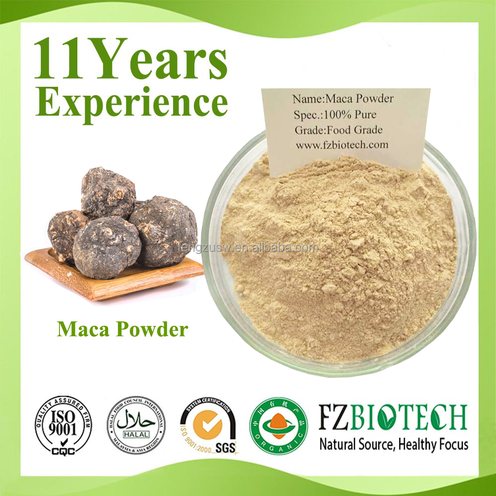 Free Sample 100% Pure Natural Health Care Products Root Raw Material Maca Powder