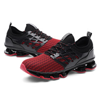 hot sale athletic action sports running shoes summer breathable couples shoes blade outsole fashion sneaker