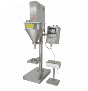 Stainless Steel Powder Filling Machine Small / Baby Milk Powder Filling Machine