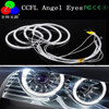 Cheap led cotton angel eyes ccfl angel eyes led with crystal angel eyes