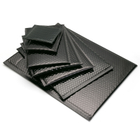Matt Black Padded Bubble Envelopes,Packaging Plastic Matte Black Bubble Envelope