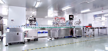LM-SRG-C Automatic Lotion Cream Filling Capping Machine
