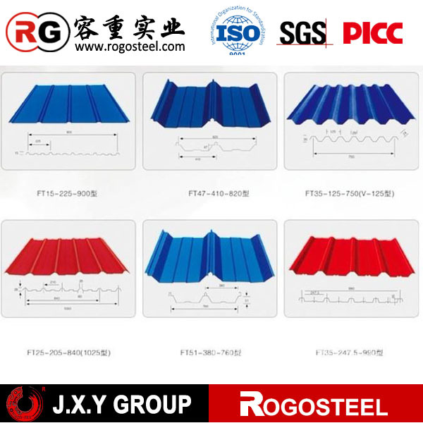 Hs Roofing & ... China Color Galvanized Roofing Sheet HS Code