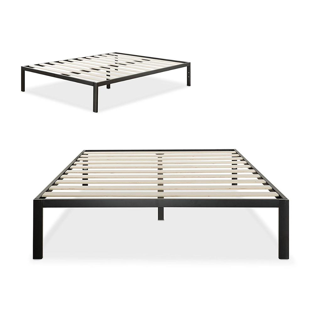 High Quality Wooden Slat Bed Frame 4 Legs Queen Buy Wood