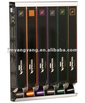 Coffee pod holder 60 nespresso capsule pods ch 0011 buy for Porte 60 capsules nespresso