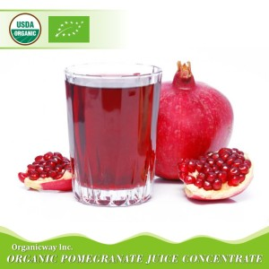 NOP EU Certified Organic Pomegranate Juice Concentrate