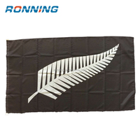 Large screen printed Wholesales 3x5ft New Zealand Feather Flag
