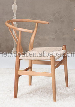 Chair Wood And Rope Seat Na5026