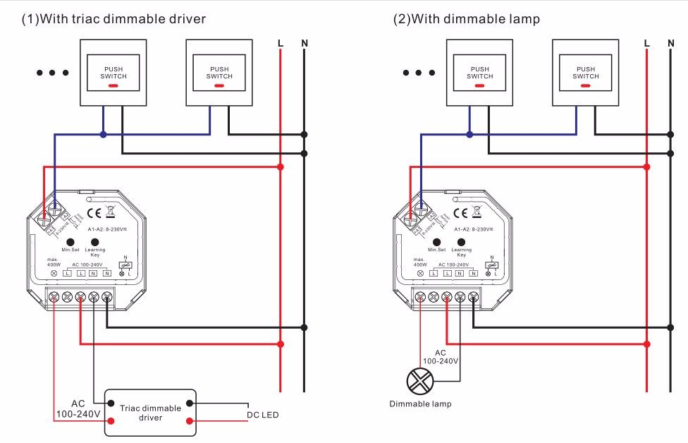 single dimmer switch wiring diagram with Sunricher Ac Push Dim 400w Rf Triac Dimmer on 65dxo Ford Fusion Just Replaced Engine 2006 Ford Fusion besides Review Honeywell Econoswitch Programmable Timer as well Leviton Rj45 Wiring Diagram besides ment 275963 moreover 87439.