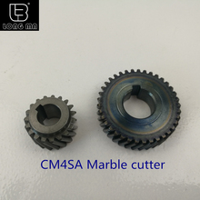 CM4SA gear set for electric power tools hitachi marble cutter metal gear pinion set