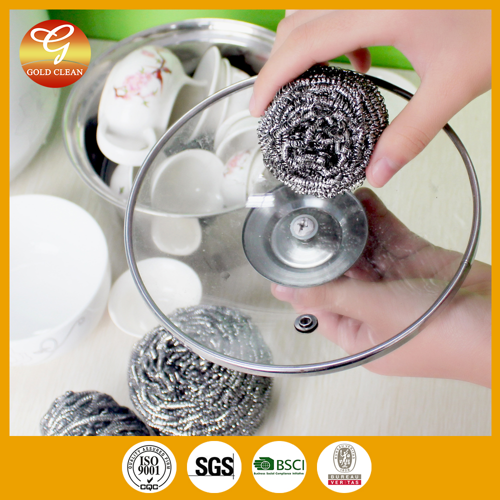 China factory cheapest steel scourer ball