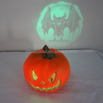 party supplies halloween decor craft wholesale artificial plastic led lighted pumpkins - Plastic Pumpkins