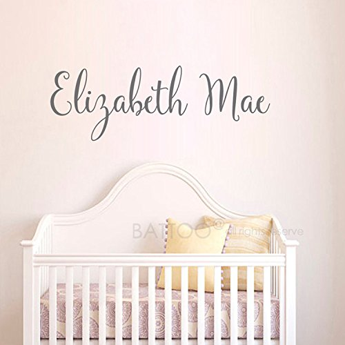Battoo Personalized Childrens Wall Decal S Name Nursery Vinyl