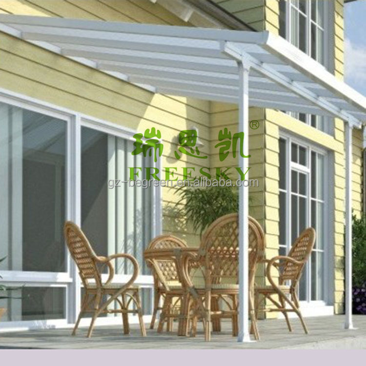 Freesky Balcony Plastic Patio Cover Buy Plastic Balcony Cover Plastic Patio Covers Aluminum Patio Covers Product On Alibaba Com