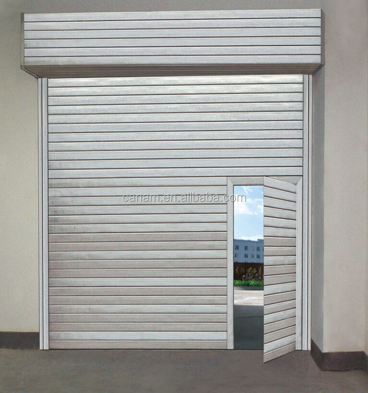 CE certificated shutter roller door