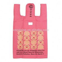 210D Nylon Folding shopping bags