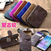 Book style frame leather phone case for samsung galaxy s6 , holster flip cell phone wallet style for samsung s6 case