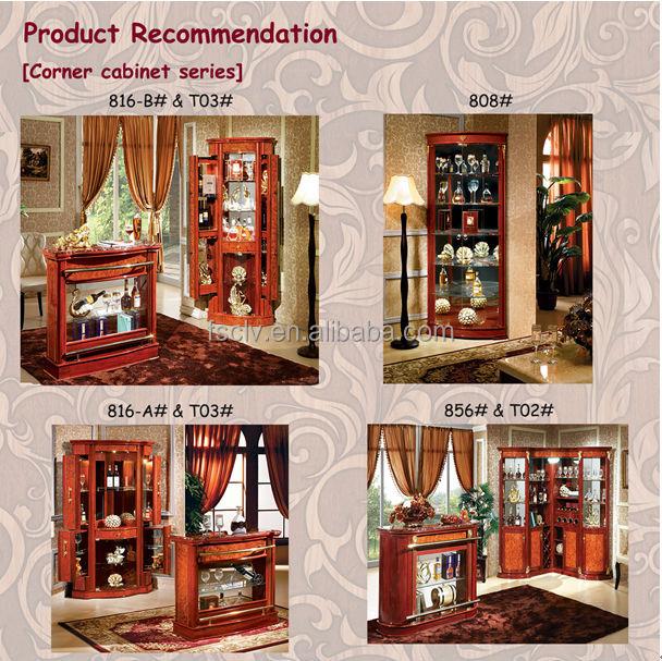 Vintage furniture glass living room showcase design wood. Vintage Furniture Glass Living Room Showcase Design Wood   Buy