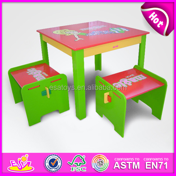 6124d869842 New Product Wooden Student Table For Kids