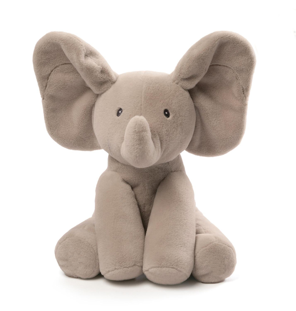 Baby bedtime accompany big ears elephant Stuffed toy
