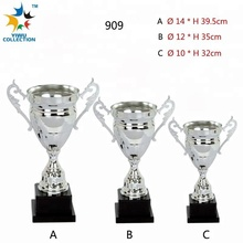 silver plastic trophy cup