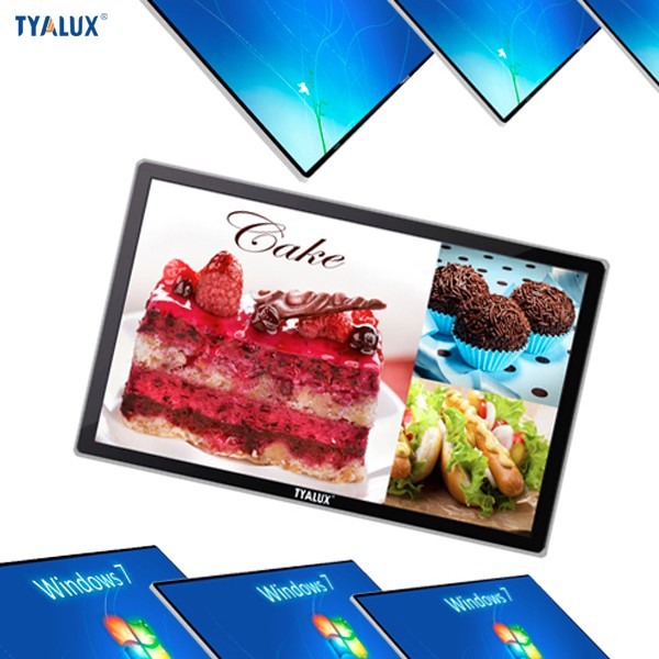 Alibaba's Best Ranked Supplier touch screen interactive 32 inch Wall mounted Display