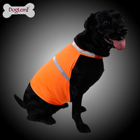 High Visible Reflecting Pet Vest Clothes Safety Walking Dog Reflective Yellow Vest
