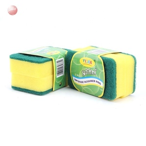 China factory kitchen cleaning sponge/scouring pad