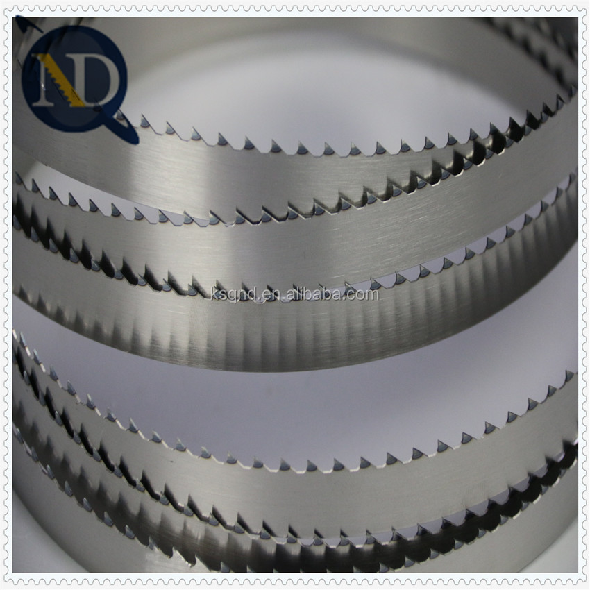 Long working time saw blade for cutting pipe with M42