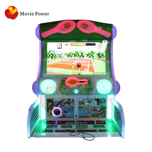 Movie Power Kids Amusement Entertainment Equipment Indoor Arcade Commercial Games Electronic Tennis Machine